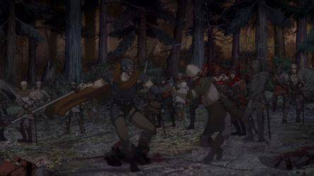 Кадр 1 из Берсерк: Золотой Век II — Битва за Долдри