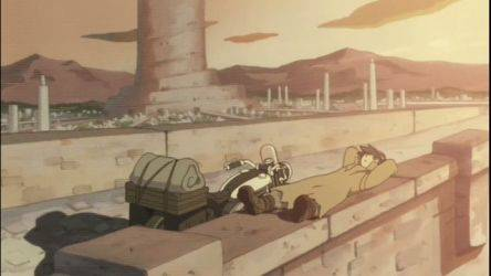 Кадр 3 из Путешествие Кино: Прекрасный мир - Страна башни