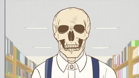 Кадр 3 из Книжник-скелет Хонда