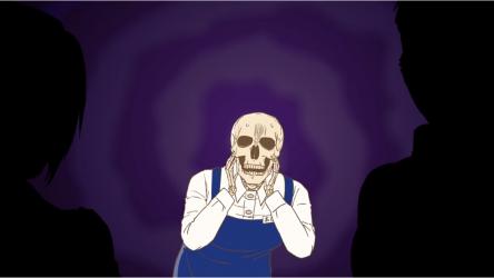 Кадр 2 из Книжник-скелет Хонда